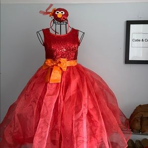 Halloween Elmo Princess dress